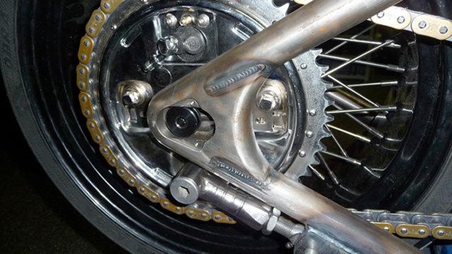 Oud type hydr remtrommel pas gemaakt op nieuw wiel 18 x 8
